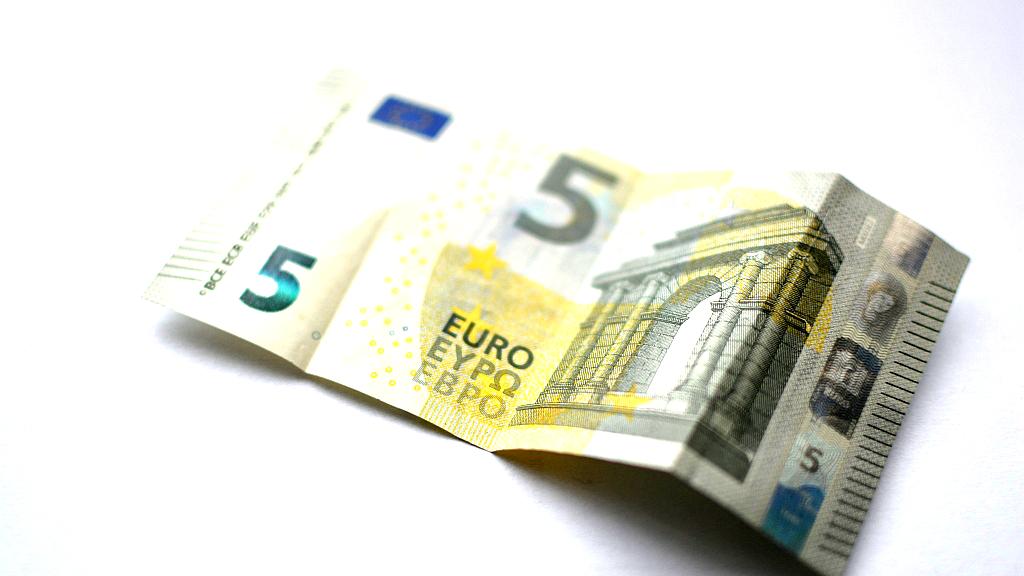 5 EUR banknote