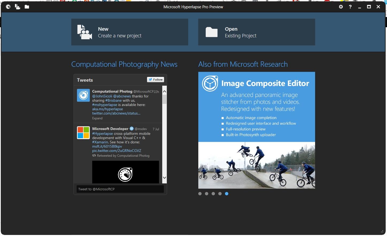 microsoft hyperlapse pro desktop windows 8.1