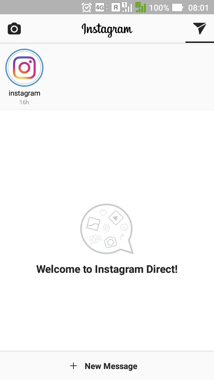 Instagram Direct. Umbrovskis.